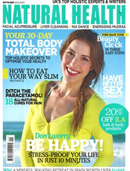 Natural Health, August 2014